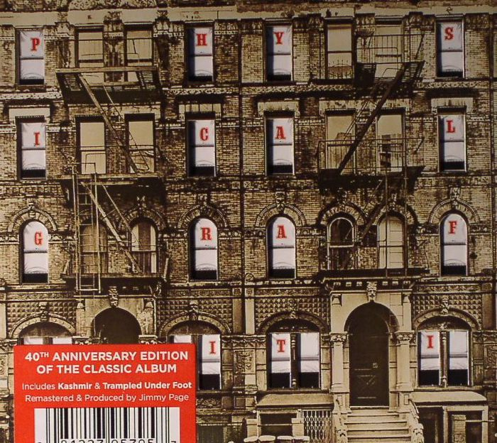 Led Zeppelin Physical Graffiti 40th Anniversary Vinyl At