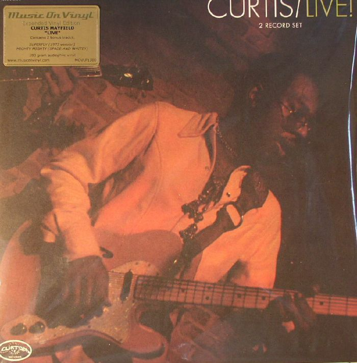 MAYFIELD, Curtis - Curtis/Live!