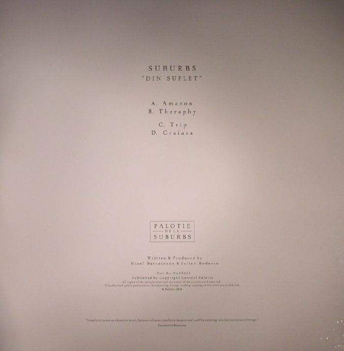 SUBURBS - Din Suflet