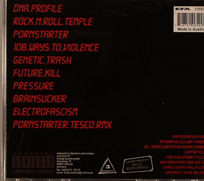 GENERATED X ED - Elektrofascism