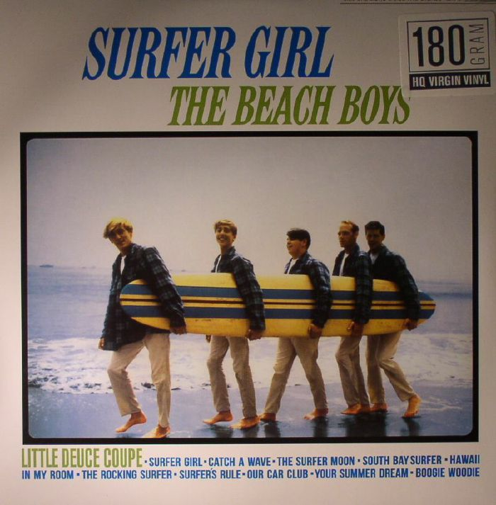 BEACH BOYS, The - Surfer Girl (remastered)