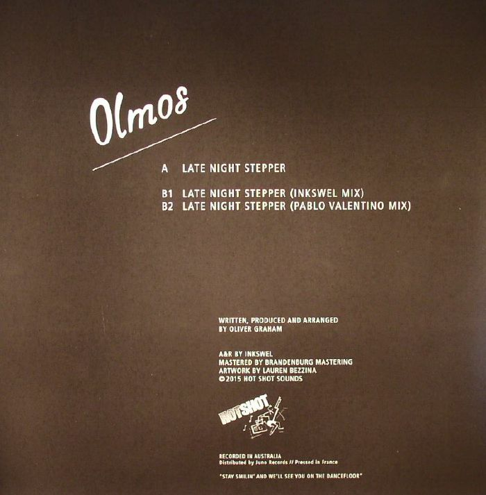 OLMOS - Late Night Stepper