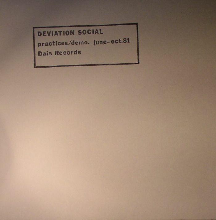 DEVIATION SOCIAL - Practices/Demo June - Oct 81