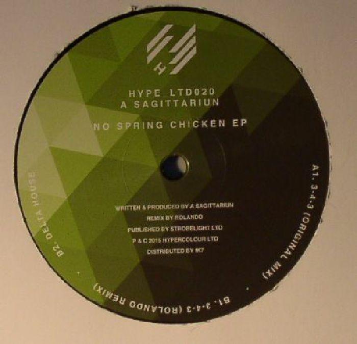 A SAGITTARIUN - No Spring Chicken EP
