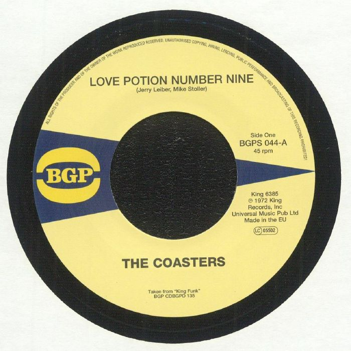 COASTERS, The - Love Potion Number Nine