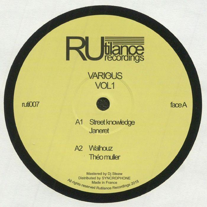 JANERET/THEO MULLER/MAROTTI/KICKS/ORTELLA/JON JASTSZEBSKI/DJ STEAW - Vol 1