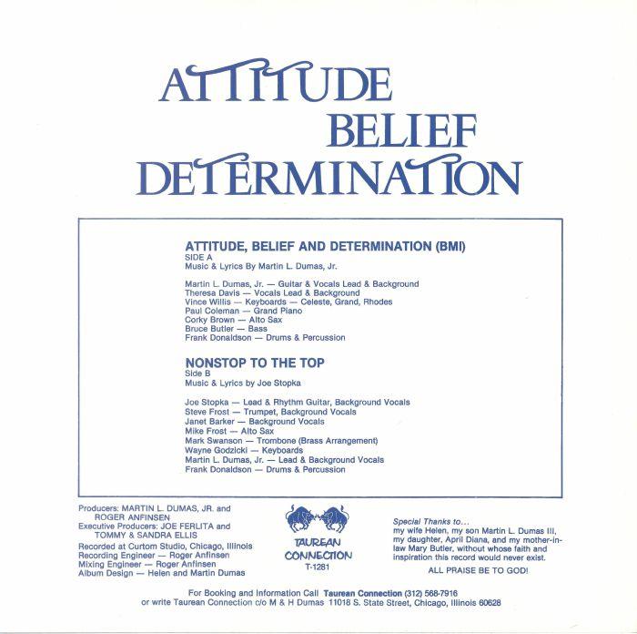 DUMAS, Martin L Jr - Attitude Belief & Determination (remastered)