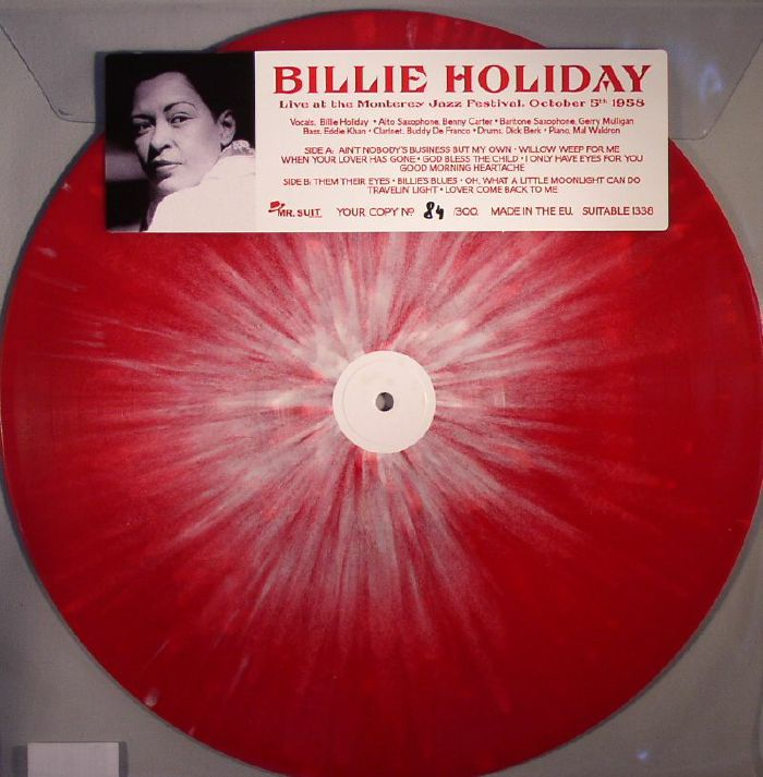 HOLIDAY, Billie - Live At The Monterey Jazz Festival October 5th 1958