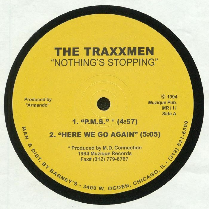 TRAXXMEN, The - Nothings Stopping EP