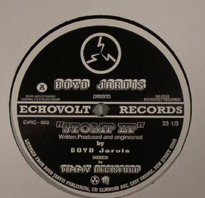 Boyd Jarvis Stomp Ep Vinyl At Juno Records