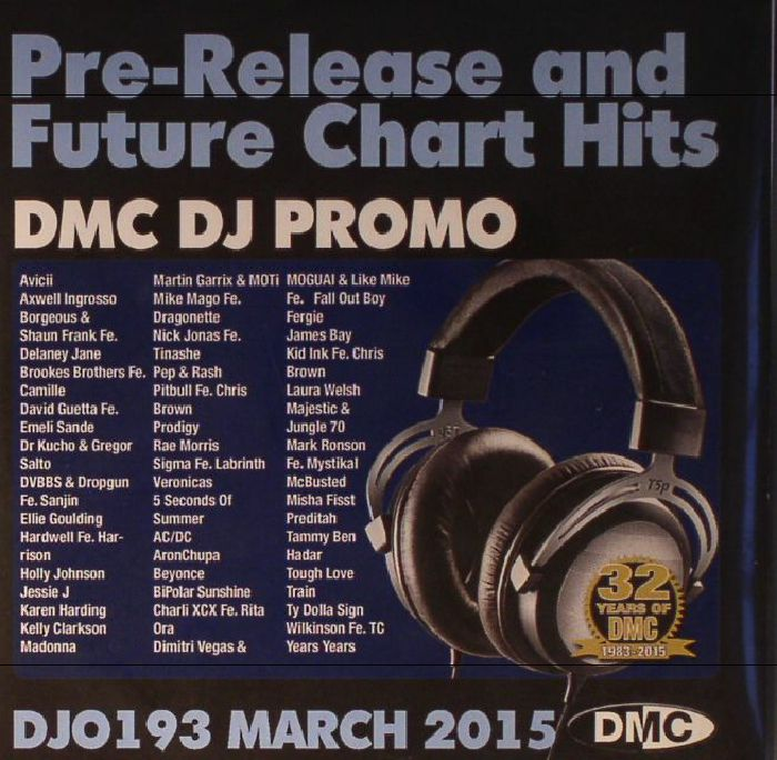VARIOUS - DJ Promo DJO 193: March 2015 (Strictly DJ Use Only) (Pre Release & Future Chart Hits)