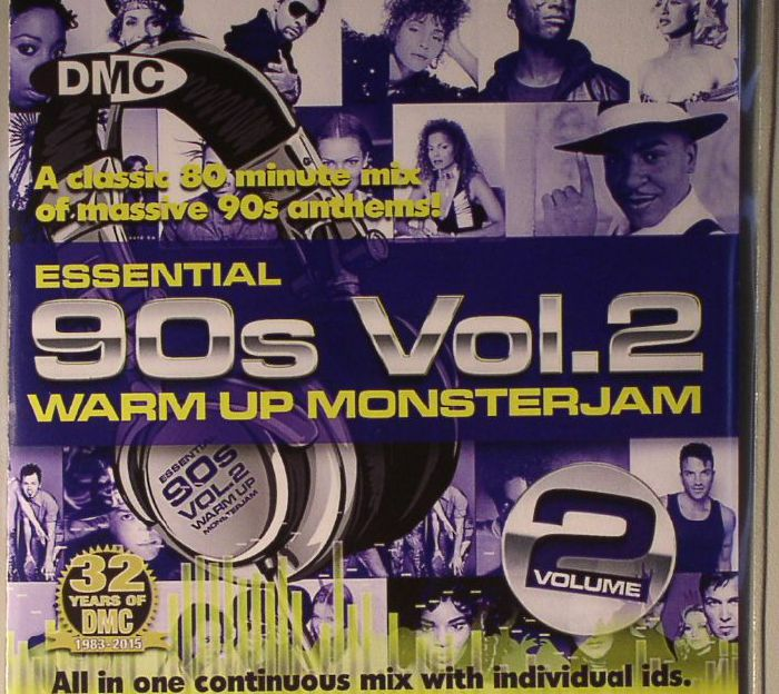 DJ IVAN SANTANA/VARIOUS - DMC Essential 90s Warm Up Monsterjam Vol 2 (Strictly DJs Only)