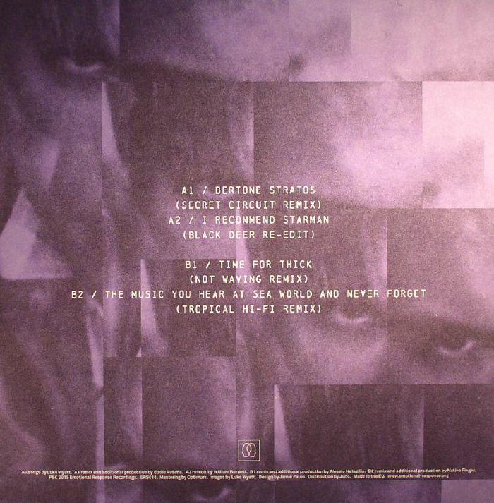 WYATT, Luke - Teen Remixes