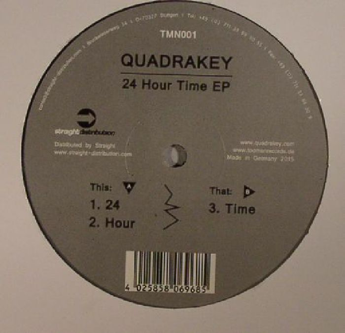 QUADRAKEY - 24 Hour Time EP