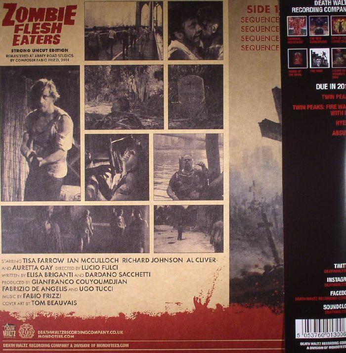 Fabio Frizzi Zombie Flesh Eaters Soundtrack Vinyl At