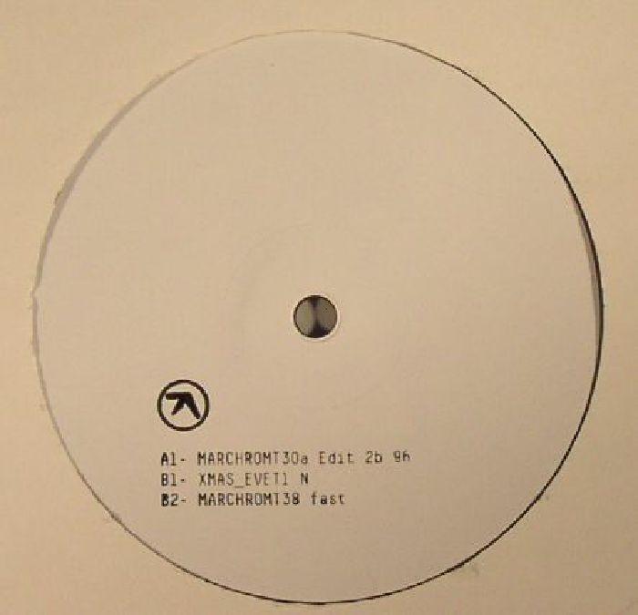 APHEX TWIN MARCHROMT30a Edit 2b 96 vinyl at Juno Records