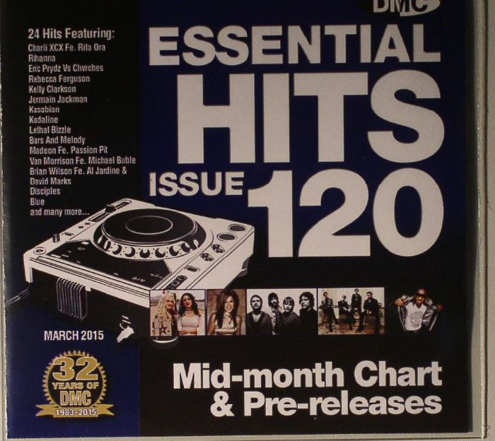 VARIOUS - Essential Hits 120: Mid Month Chart & Pre Releases (Strictly DJ Only)