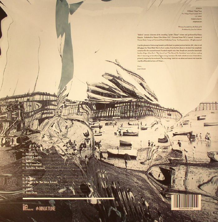 LEE, Annabel - By The Sea & Other Solitary Places (Record Store Day 2015)
