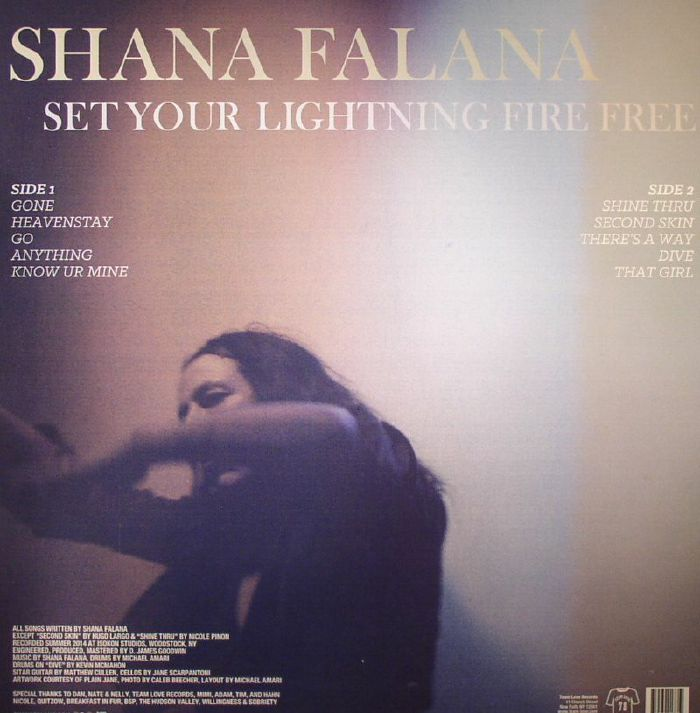 FALANA, Shana - Set Your Lightning Fire Free