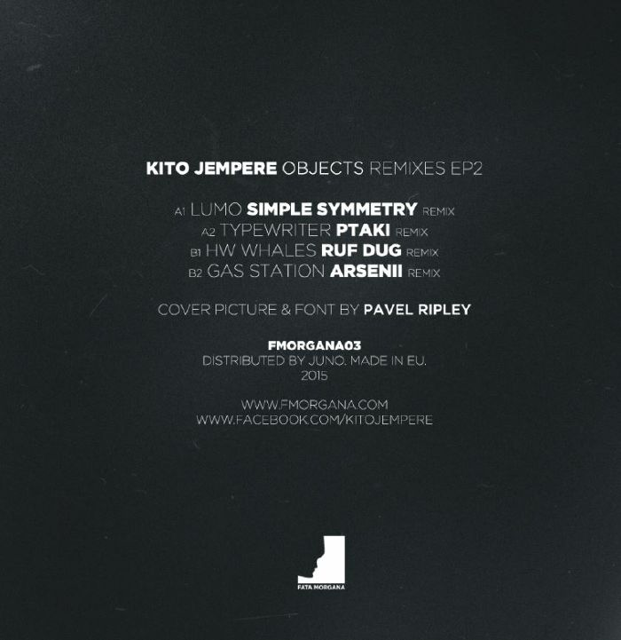 JEMPERE, Kito - Objects Remixes Ep2