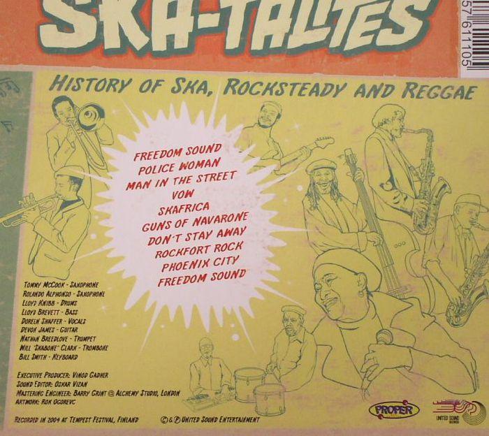 SKATALITES, The - History Of Ska Rocksteady & Reggae