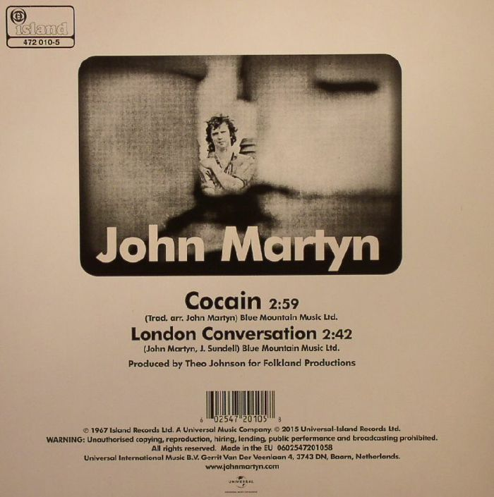 MARTYN, John - Cocain (Record Store Day 2015)
