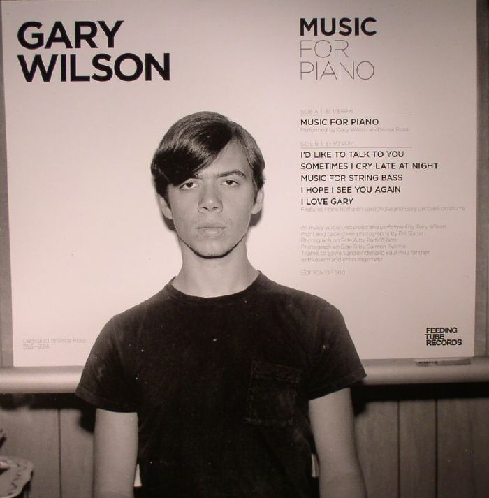 Gary Wilson - Music For Piano