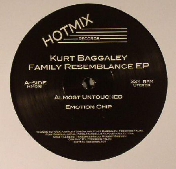 BAGGALEY, Kurt - Family Resemblance EP