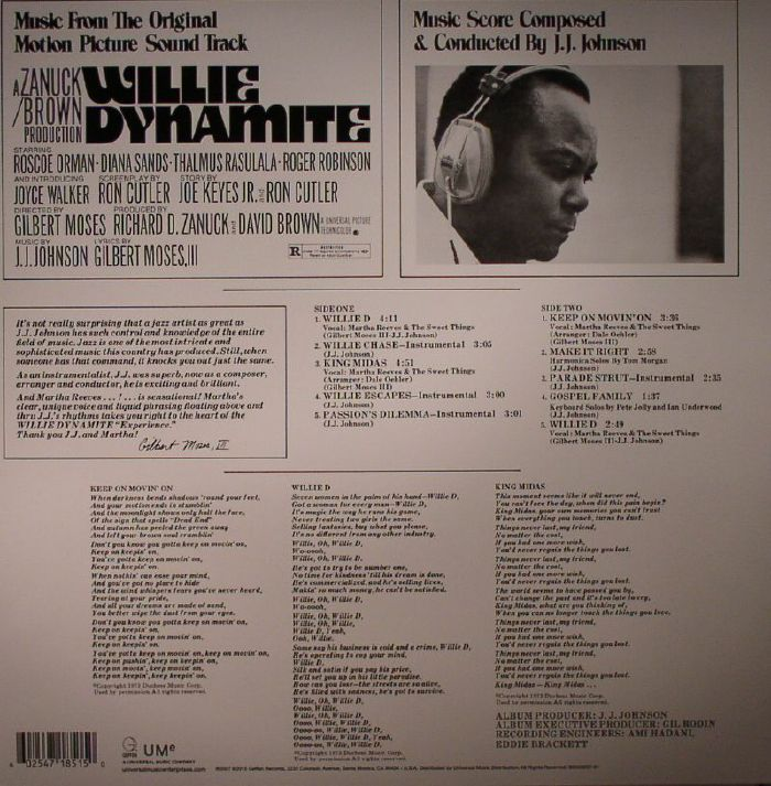 JJ JOHNSON - Willie Dynamite (Soundtrack)