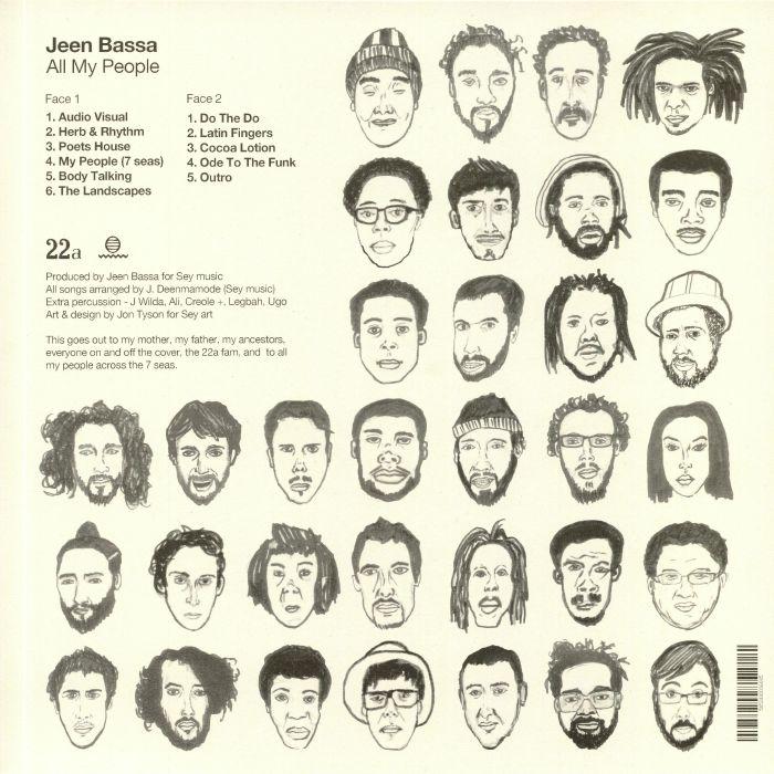 BASSA, Jeen - All My People EP
