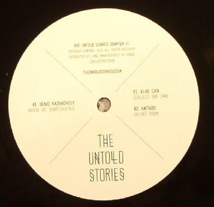 VARIOUS - The Untold Stories. Chapter III & Chapter IV