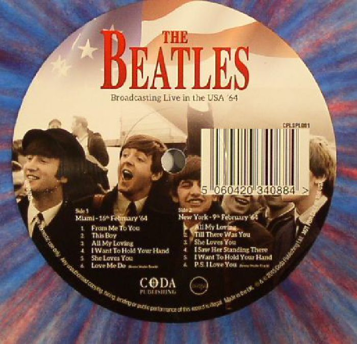 BEATLES, The - Broadcasting Live In The USA 64