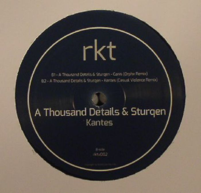 A THOUSAND DETAILS/STURQEN - Kantes