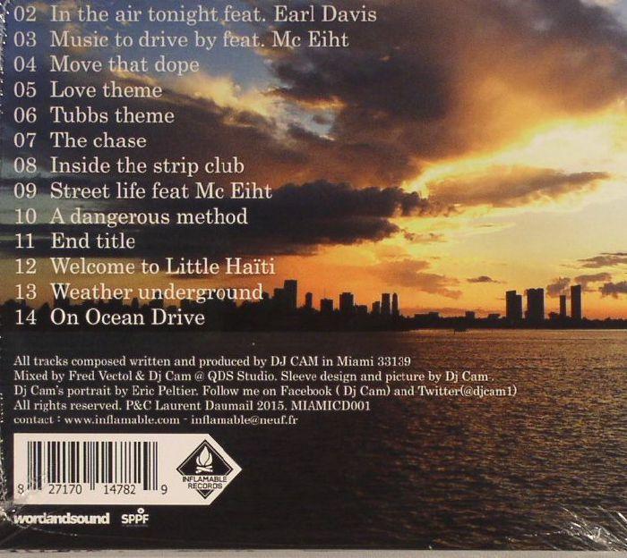 Dj Cam Miami Vice Soundtrack Vinyl At Juno Records