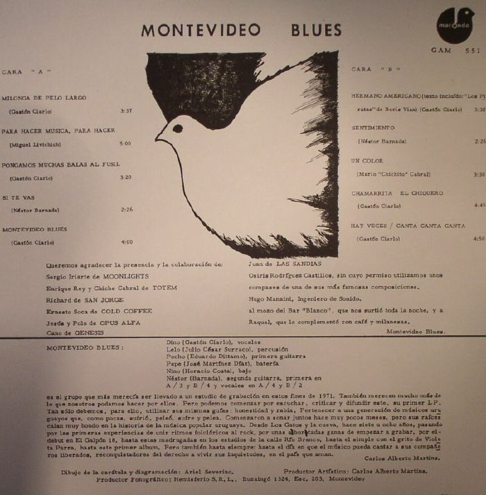 MONTEVIDEO BLUES - Montevideo Blues