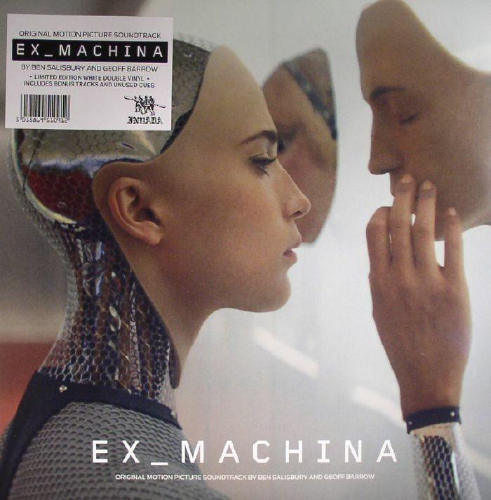 Ben Salisbury Geoff Barrow Ex Machina Soundtrack Vinyl