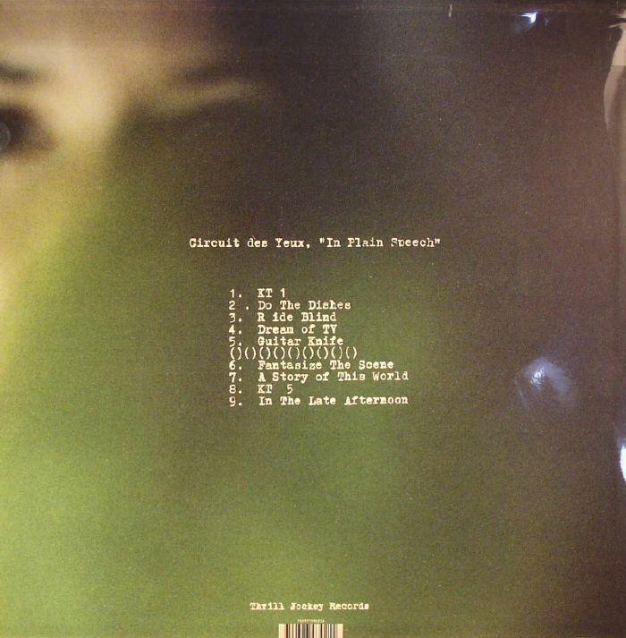 Circuit Des Yeux In Plain Speech Vinyl At Juno Records