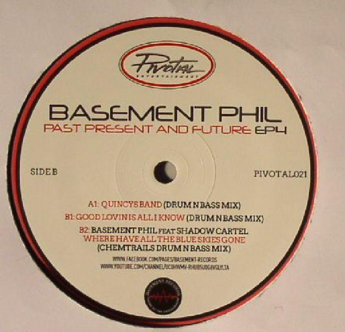 BASEMENT PHIL Past Present & Future EP 4 Vinyl At Juno