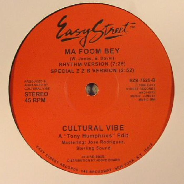 CULTURAL VIBE - Ma Foom Bey (remastered)
