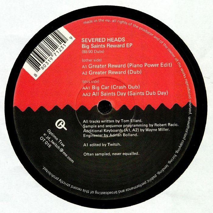 SEVERED HEADS - Big Saints Reward EP