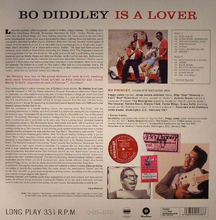 Bo Diddley Bo Diddley Is A Lover Vinyl At Juno Records