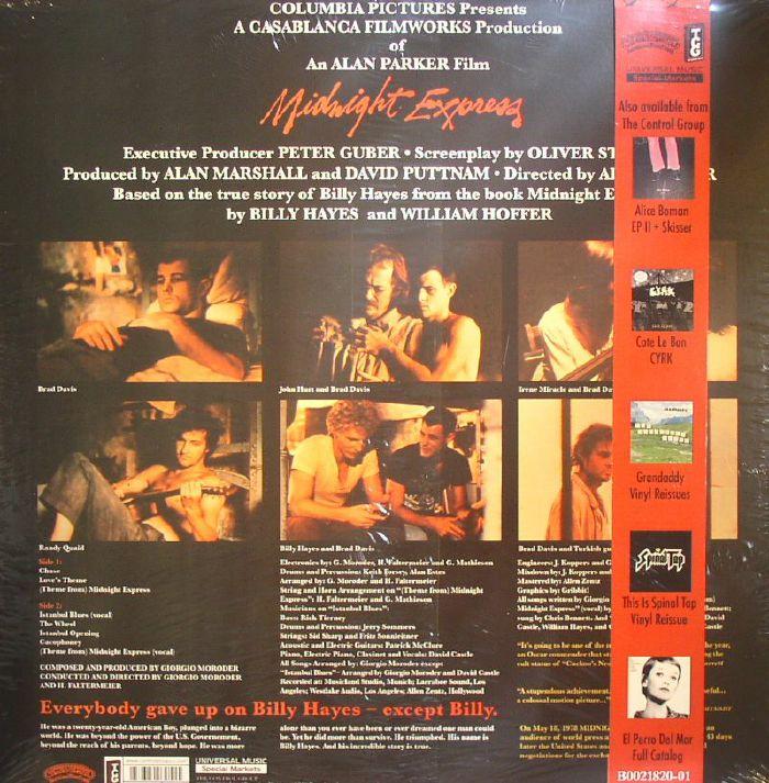 MORODER, Giorgio - Midnight Express (Soundtrack)