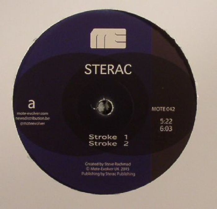 STERAC aka STEVE RACHMAD - Different Strokes