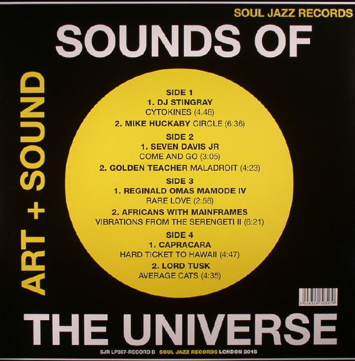 VARIOUS - Sounds Of The Universe: Art + Sound 2012-2015 Record B