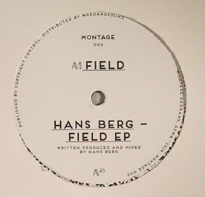 BERG, Hans - Field EP