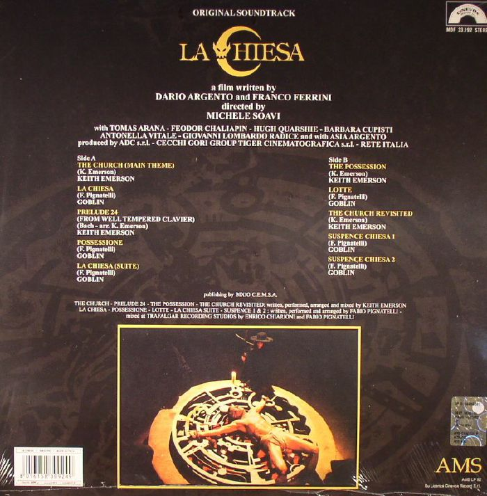 EMERSON, Keith/GOBLIN - La Chiesa (Soundtrack)