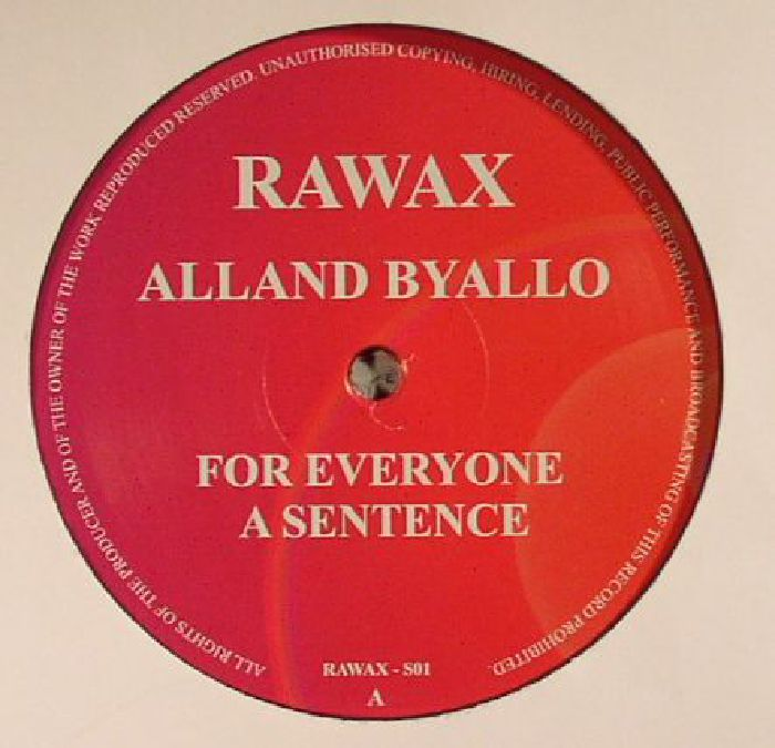 BYALLO, Alland - For Everyone A Sentence