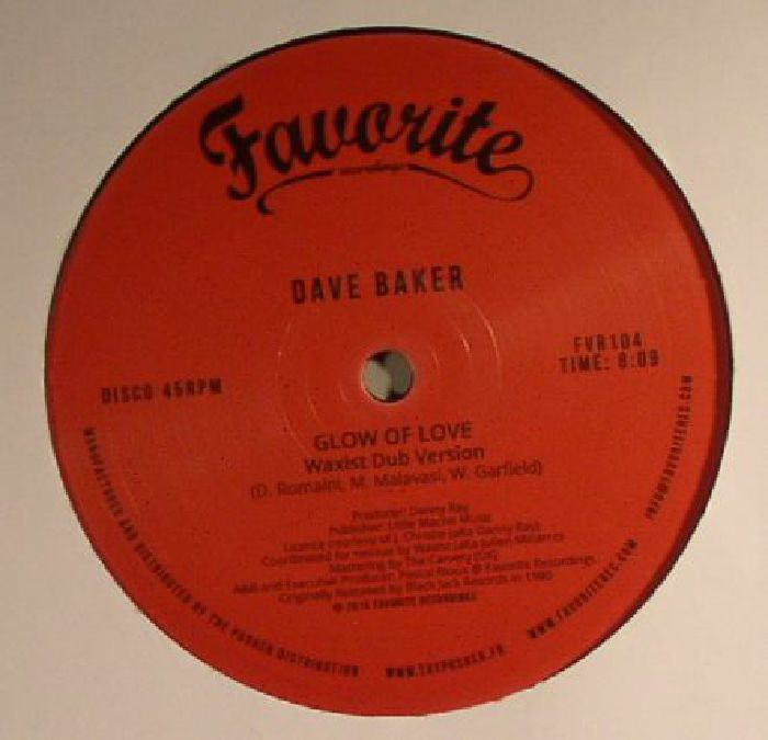 BAKER, David - Glow Of Love (remastered)