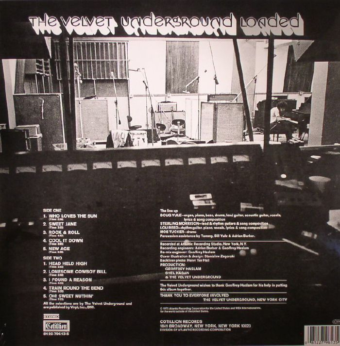 VELVET UNDERGROUND, The - Loaded