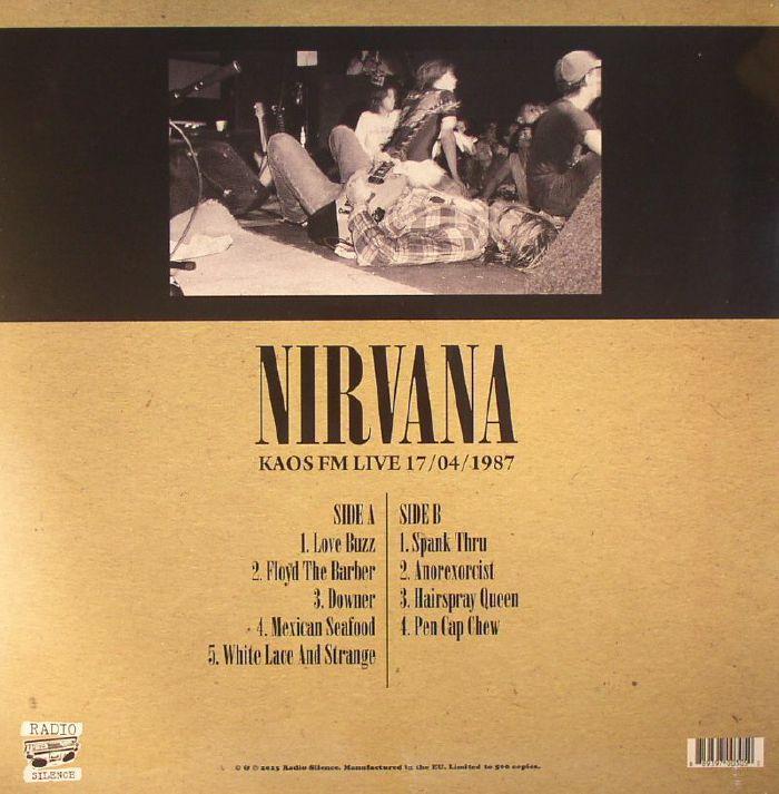 NIRVANA - Kaos FM Live 17/04/1987